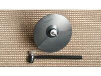 "Roland Hi-Hat Cymbal CY-5 10"" vgc £55"