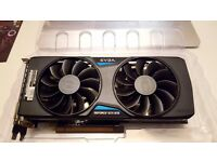 EVGA GTX 970 FTW + BACKPLATE IN BOX