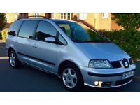 2005 Seat Alhambra 1.9 TDI PD REFERENCE 6 Speed Manual