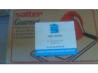 Salter Gourmet Food Slicer