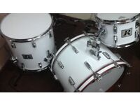 Rogers Big R 3ply 70s 3 piece kit 22x14 16x16 12x8 new england white