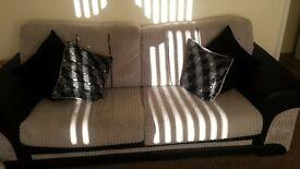 3 seat sofa with futon