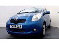 2007 │ Toyota Yaris │ 1.3 Petrol │ Automatic │ 5 Doors │ 1 Year MOT │ 83000 Miles │ Air Con