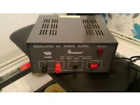 Samlex 12 Amp CB Radio Power Supply with Short Circuit Protection.