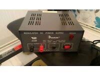 Samlex 12 Amp CB Radio Power Supply with Short Circuit Protection.