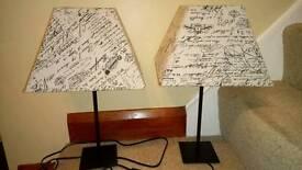 Table lamps BARGAIN!!