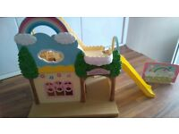 Sylvanian families nursery school with furniture