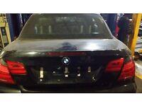 BMW 3 SERIES E93 TAILGATE FACE LIFT MODEL
