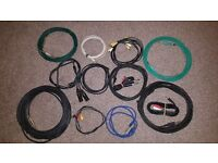Speaker connectors (cables)