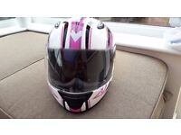 Girls/Ladies Motorcycle helmet