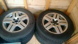 195/65/15 winter tyres and wheels conti Winter Contact