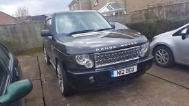"Range Rover Vouge L322 low miles long mot private plate tinted windows 22"" alloys thousands spent"