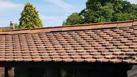 Antique roof tiles