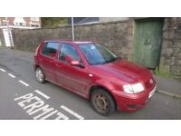 Spares/Repairs VW POLO 2001