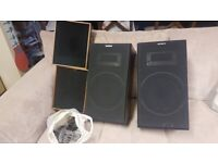 2 x Pye and 2 x Sony Speakers