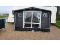 Isabella Magnum porch awning, coal, used.