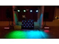 Professional Disco - DJ, Sound and Light. Personal Service -Prices from £180