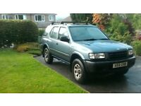 Vauxhall, FRONTERA...(73000 MILES ONLY) FOUR WHEEL DRIVE.. Estate, 2001, Manual, 2198 (cc), 5 doors