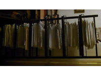 storage rack, free-standing, sturdy and stable, 63x45x177h, 7 shelves