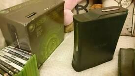 Xbox 360 Elite, 12 Games, 2 Controllers