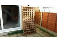 BRAND NEW (BARGAIN)TREATED GARDEN TRELLIS X 4 PIECES 6FT X 3ft COLLECTION FROM MALDON ESSEX