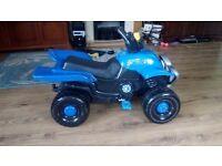Toy pedal car