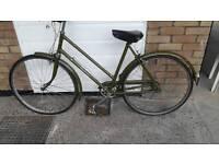 Vintage Balmoral Hercules ladies bike