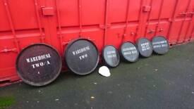 Whisky Barrel Tops
