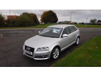 AUDI A3 1.6 TDI SPORT,2012,1 Previous Owner,Full Service History,Very Clean,62mpg,£20 Per Year Tax