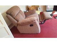 Harveys recliner chair