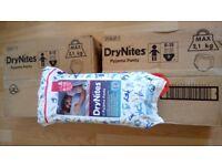 Huggies drynites size 8-15yrs