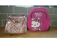 2 HELLO KITTY BAGS