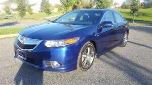 2013 Acura TSX A-Spec Pkg|One Owner|Accident Free|Sunroof|