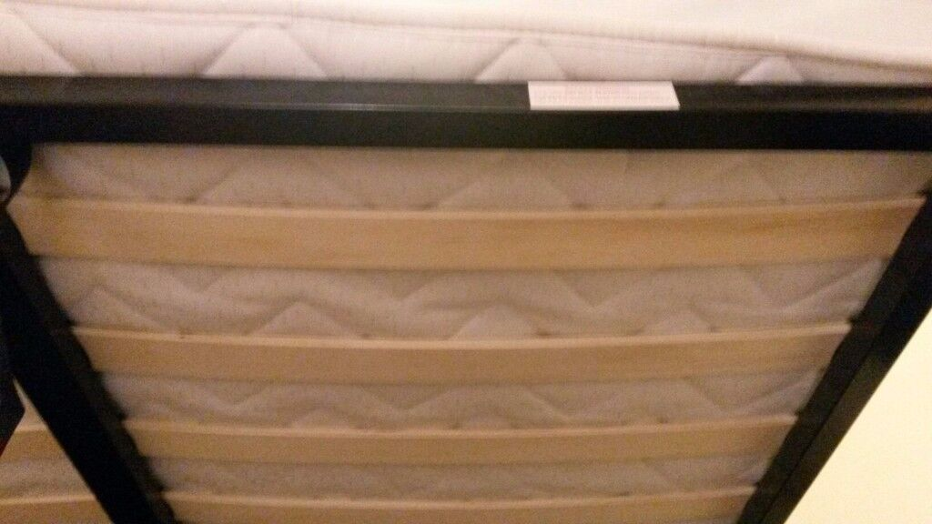 Fabric Ottoman Storage Double Bed