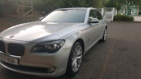 BMW 730D private plate number !
