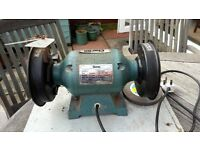 """Clarke twin wheel 5"""" bench grinder fully functioning"""