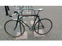 Single speed road bike - steel frame