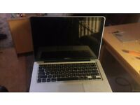 Mac book pro (NO HARD DRIVE OR CHARGER)