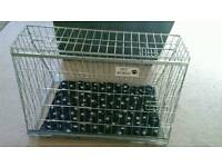 Sloping dog crate for small cars hatchbacks fits micra ka