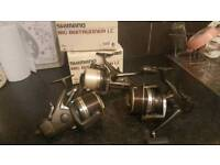 Shimano lc longcast reels just been respooled with Diawa sensor line in excellent condition