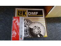 Dual mass fly wheel LUK and slave cylinder for Volvo s40 ( MK2) 2.0