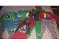 2-3 boys pyjama/onesie bundle