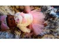 Reborn baby dolls & monkey life like dolls