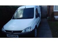 Vauxhall combi van. Reliable but slightly untidy hence £450