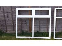 UPVC DOUBLE GLAZED WINDOWS X 2
