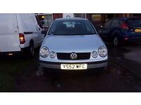 Volkswagen Polo 1.2 5door petrol 56kmiles