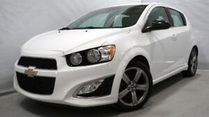2015 CHEVROLET SONIC RS RS TURBO CUIR BLUETOOTH TOIT OUVRANT CAM