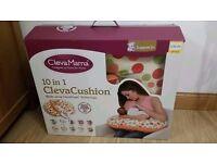 Clevamama ClevaCushion 10 in 1 Nursing/feeding Pillow - like new, feeding pillow