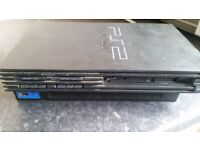 Playstation 2 Console only (FULTY SPEARS OR REPAIR )