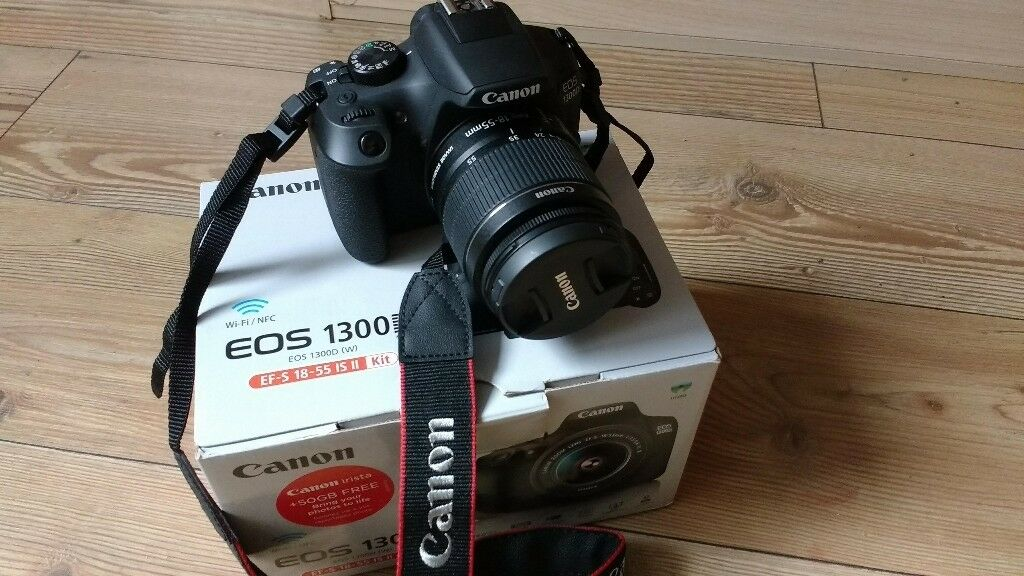 New-Canon EOS 1300D + 18-55mm III Lens Digital SLR Camera | in Bolton,  Manchester | Gumtree